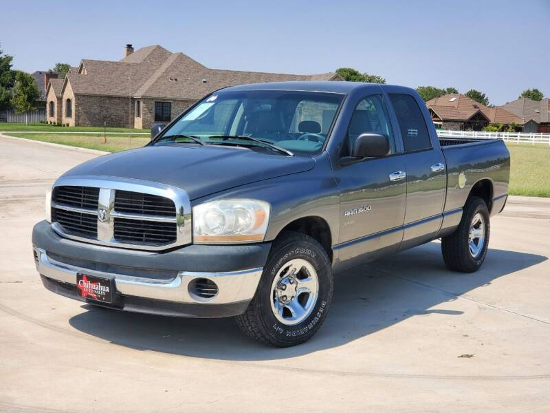 2006 Dodge Ram Pickup 1500 for sale at Chihuahua Auto Sales in Perryton TX