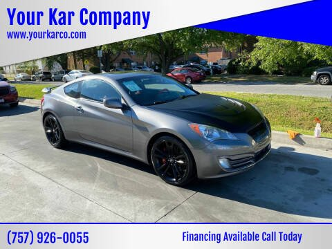 2010 Hyundai Genesis Coupe for sale at Your Kar Company in Norfolk VA