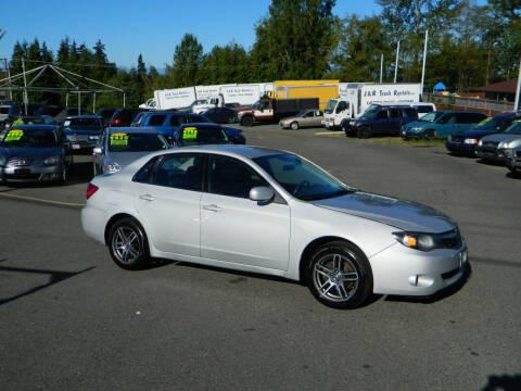 2010 Subaru Impreza for sale at J & R Motorsports in Lynnwood WA