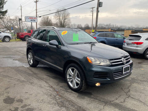 2014 Volkswagen Touareg for sale at JERRY SIMON AUTO SALES in Cambridge NY