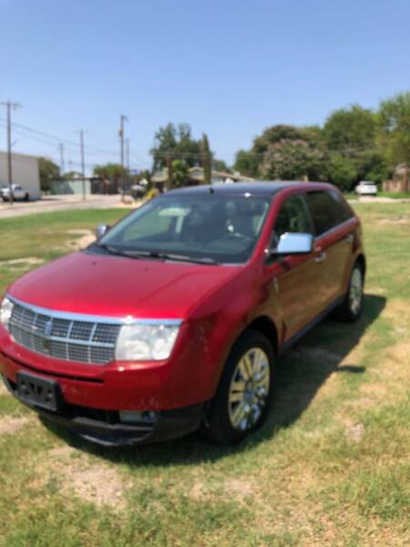2010 Lincoln MKX for sale at Carzready in San Antonio TX