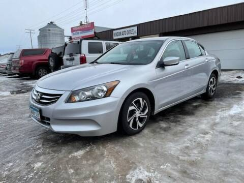 2011 Honda Accord for sale at WINDOM AUTO OUTLET LLC in Windom MN