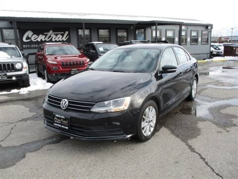 2015 Volkswagen Jetta for sale at Central Auto in South Salt Lake UT