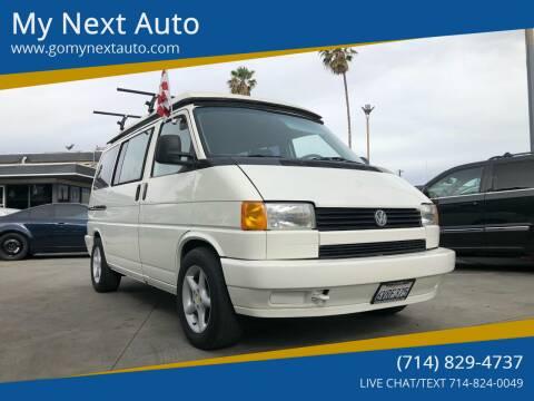 1993 Volkswagen EuroVan for sale at My Next Auto in Anaheim CA