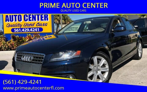 2009 Audi A4 for sale at PRIME AUTO CENTER in Palm Springs FL