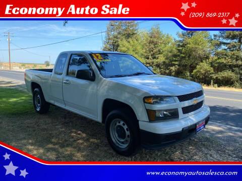2012 Chevrolet Colorado for sale at Economy Auto Sale in Modesto CA