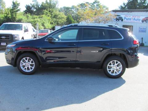 2015 Jeep Cherokee for sale at Pure 1 Auto in New Bern NC