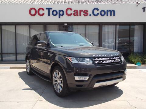 2014 Land Rover Range Rover Sport for sale at OC Top Cars in Irvine CA