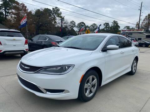 2015 Chrysler 200 for sale at Auto Land Of Texas in Cypress TX