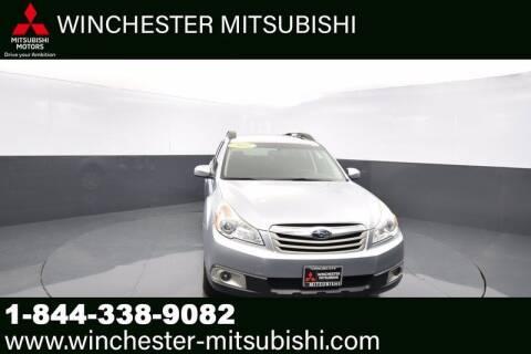 2012 Subaru Outback for sale at Winchester Mitsubishi in Winchester VA