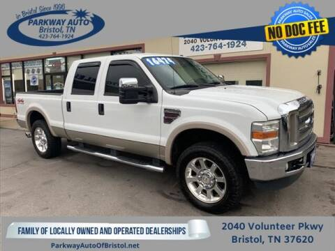 2008 Ford F-250 Super Duty for sale at PARKWAY AUTO SALES OF BRISTOL in Bristol TN