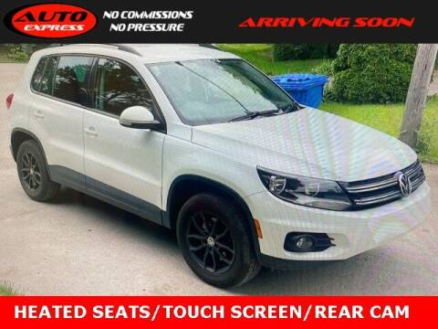 2017 Volkswagen Tiguan for sale at Auto Express in Lafayette IN