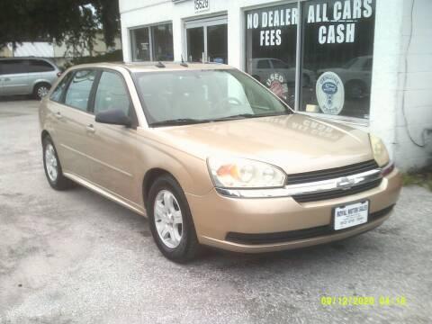 2004 Chevrolet Malibu Maxx for sale at ROYAL MOTOR SALES LLC in Dover FL