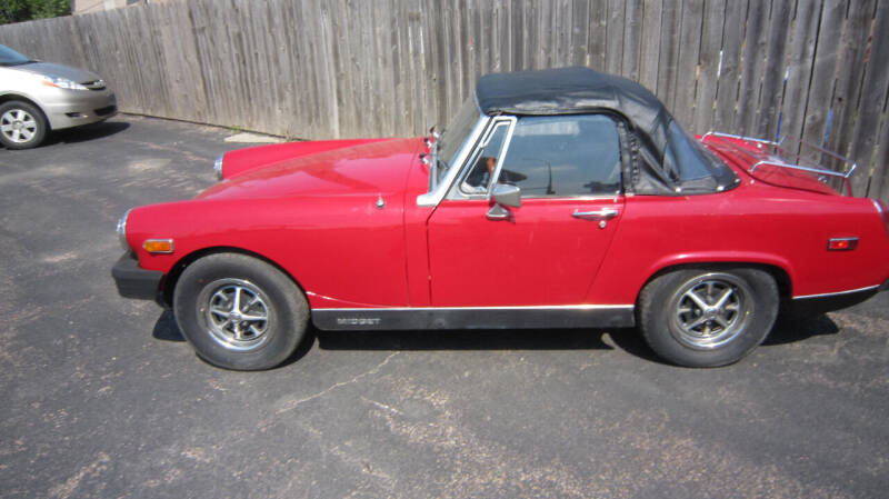 1979 MG Midget for sale at Auto Shoppe in Mitchell SD