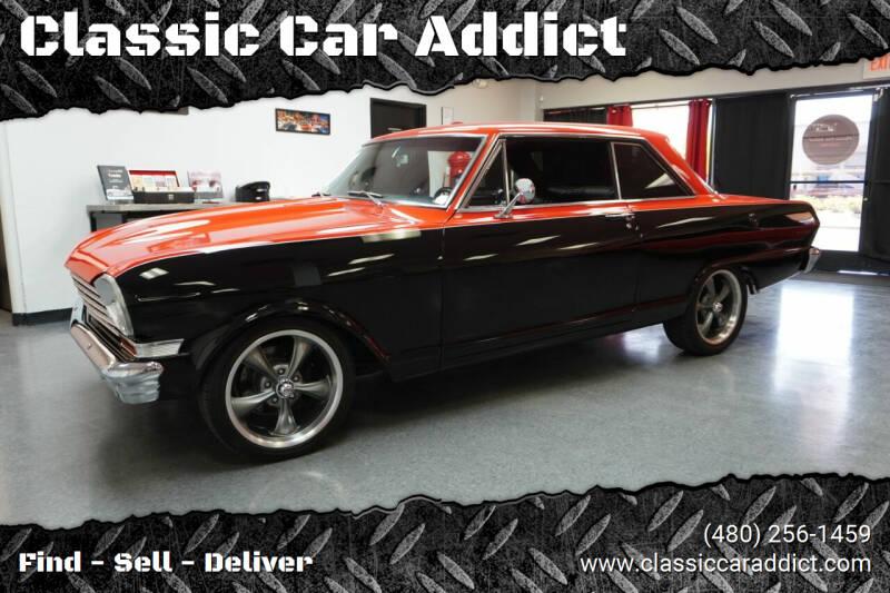 1963 Chevrolet Nova for sale at Classic Car Addict in Mesa AZ