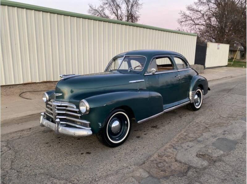 1948 Chevrolet Fleetmaster for sale at Dealers Choice Inc in Farmersville CA