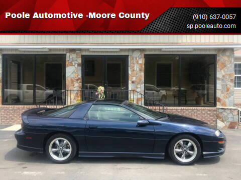 2001 Chevrolet Camaro for sale at Poole Automotive -Moore County in Aberdeen NC