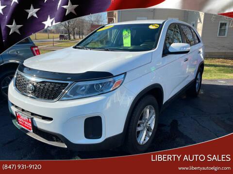 2014 Kia Sorento for sale at Liberty Auto Sales in Elgin IL