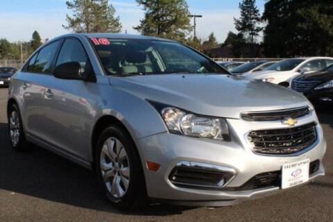 2016 Chevrolet Cruze Limited for sale at S&S Best Auto Sales LLC in Auburn WA