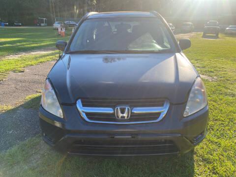 2002 Honda CR-V for sale at Carlyle Kelly in Jacksonville FL