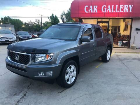2012 Honda Ridgeline for sale at Car Gallery in Oklahoma City OK