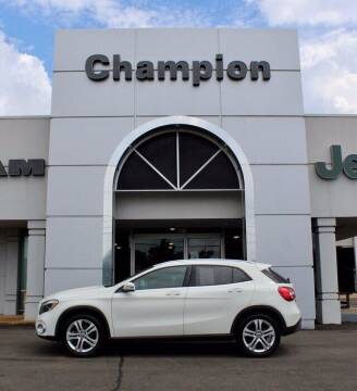 2018 Mercedes-Benz GLA for sale at Champion Chevrolet in Athens AL
