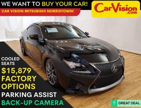 2015 Lexus RC F for sale at Car Vision Mitsubishi Norristown in Trooper PA