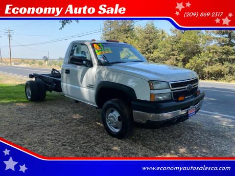 2007 Chevrolet Silverado 3500 CC Classic for sale at Economy Auto Sale in Modesto CA