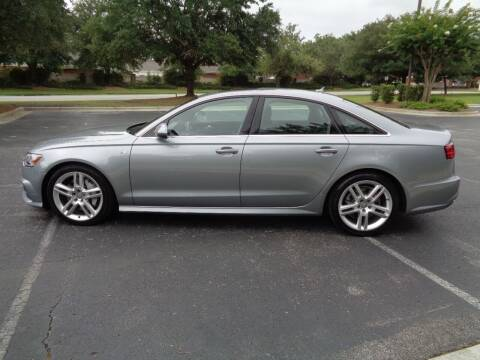 2016 Audi A6 for sale at BALKCUM AUTO INC in Wilmington NC
