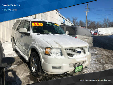 2005 Ford Expedition for sale at Carson's Cars in Milwaukee WI