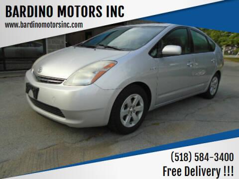 2007 Toyota Prius for sale at BARDINO MOTORS INC in Saratoga Springs NY