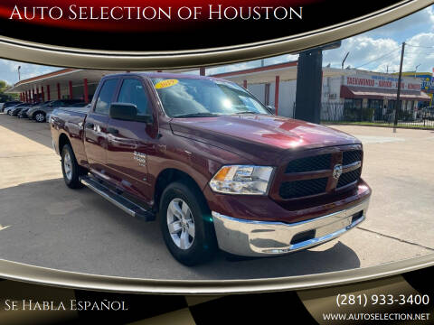 2019 RAM Ram Pickup 1500 Classic for sale at Auto Selection of Houston in Houston TX