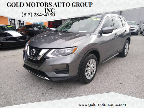 2017 Nissan Rogue for sale at Gold Motors Auto Group Inc in Tampa FL