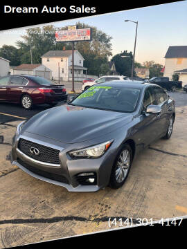 2015 Infiniti Q50 for sale at Dream Auto Sales in South Milwaukee WI