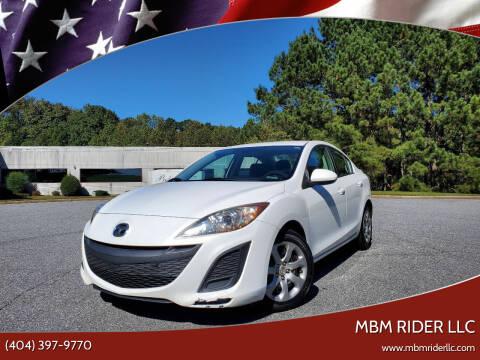 2010 Mazda MAZDA3 for sale at MBM Rider LLC in Alpharetta GA