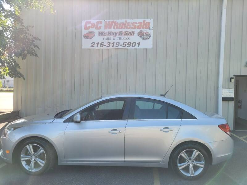2012 Chevrolet Cruze for sale at C & C Wholesale in Cleveland OH