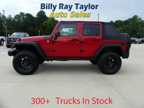 2014 Jeep Wrangler Unlimited for sale at Billy Ray Taylor Auto Sales in Cullman AL