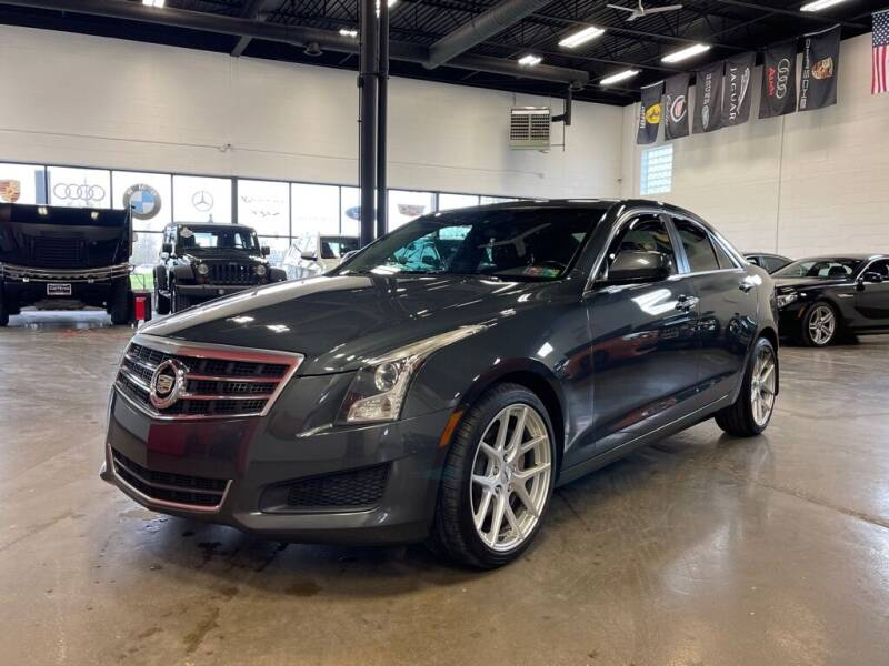 2014 Cadillac ATS for sale at CarNova in Sterling Heights MI