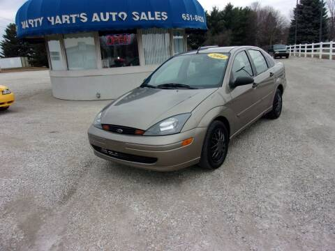 2004 Ford Focus for sale at Marty Hart's Auto Sales in Sturgis MI
