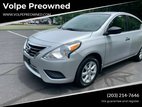 2015 Nissan Versa for sale at Volpe Preowned in North Branford CT
