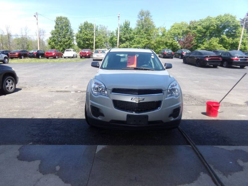 2014 Chevrolet Equinox for sale at Pool Auto Sales Inc in Spencerport NY