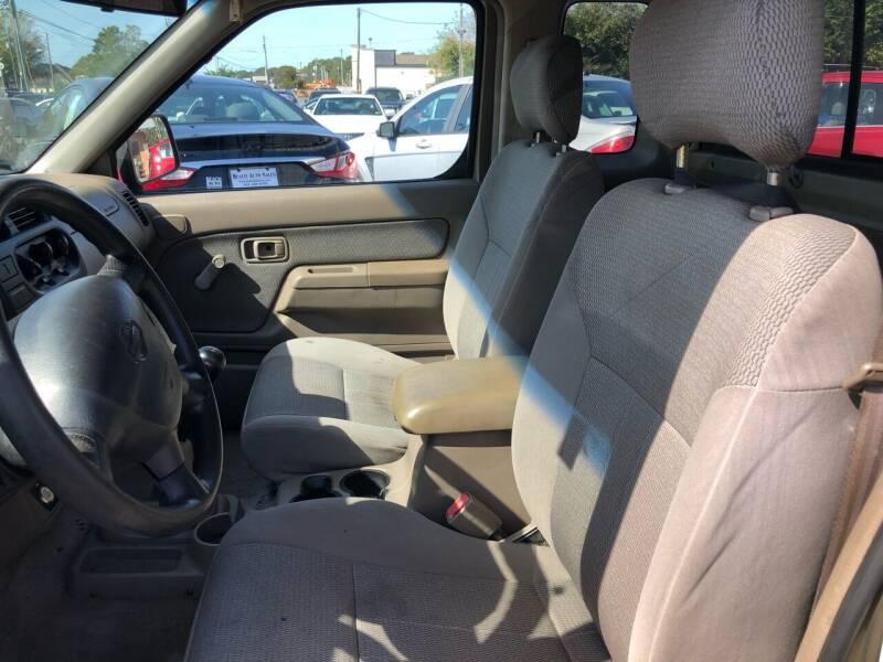 2001 Nissan Frontier 2dr XE King Cab SB 2WD - Virginia Beach VA