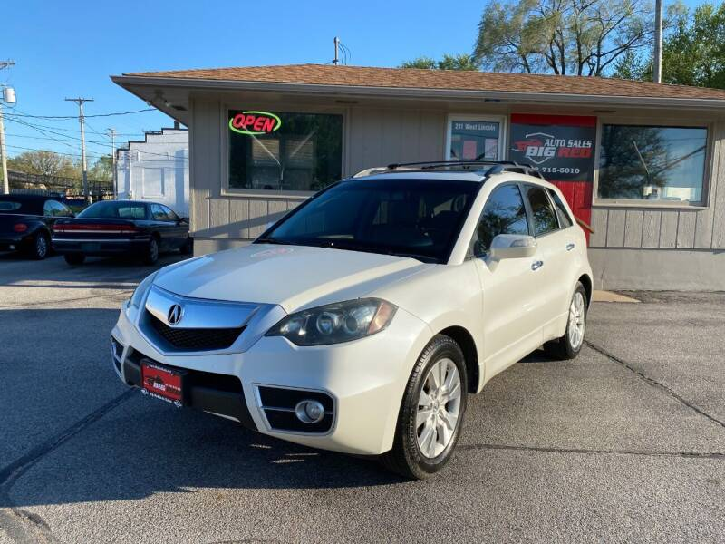 2011 Acura RDX for sale at Big Red Auto Sales in Papillion NE