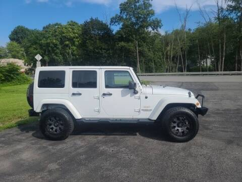 2015 Jeep Wrangler Unlimited for sale at K & L AUTO SALES, INC in Mill Hall PA