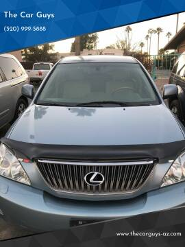 2007 Lexus RX 350 for sale at The Car Guys in Tucson AZ