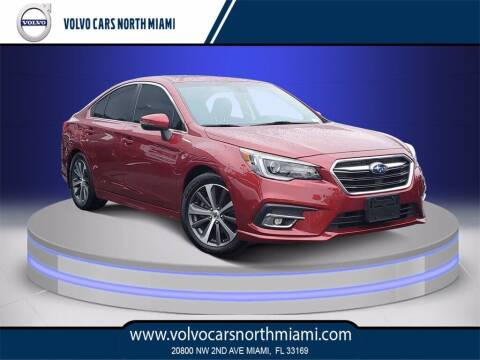 2018 Subaru Legacy for sale at Volvo Cars North Miami in Miami FL