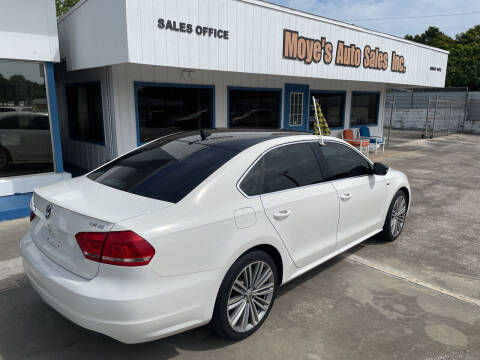 2015 Volkswagen Passat for sale at Moye's Auto Sales Inc. in Leesburg FL