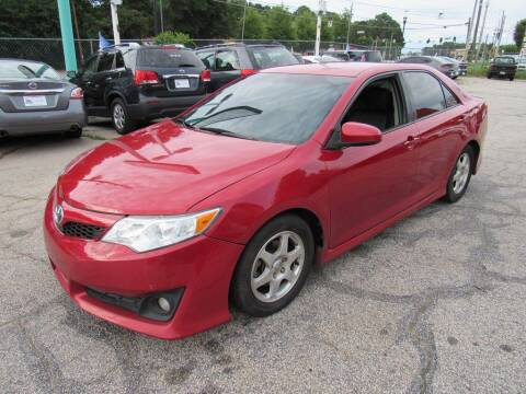 2013 Toyota Camry for sale at King of Auto in Stone Mountain GA