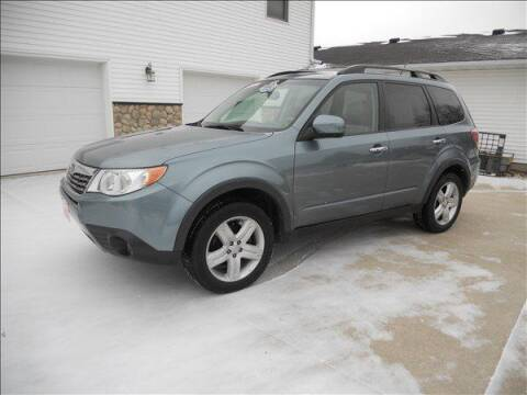 2010 Subaru Forester for sale at OLSON AUTO EXCHANGE LLC in Stoughton WI