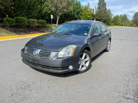 2005 Nissan Maxima for sale at Aren Auto Group in Sterling VA